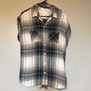 American Eagle cap sleeve shirt
